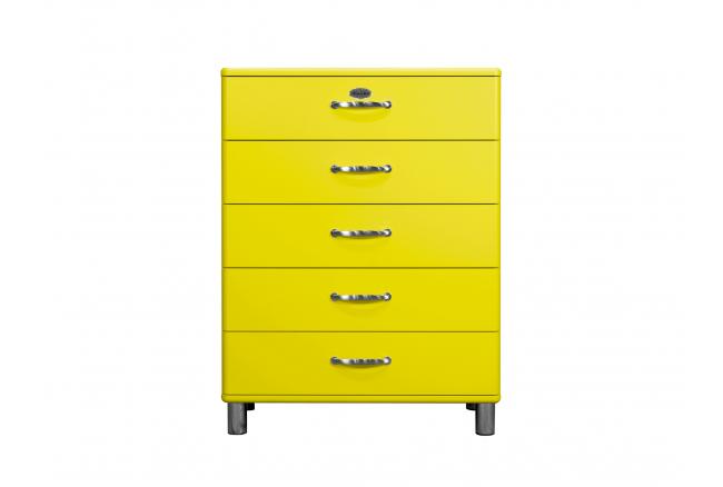 Commode 'Malibu' - kleur: Geel