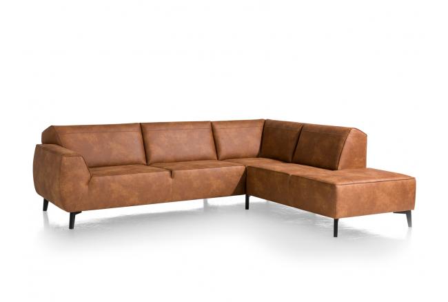 Hoeksalon 'Lima' - kleur: Cors