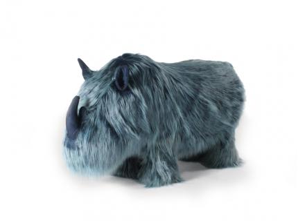Neushoorn 'Rino' - kleur: Blau