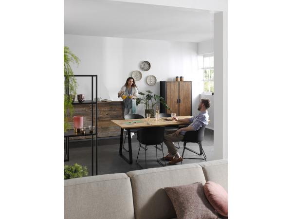 Tafel ran kleur: eik hout deba meubelen