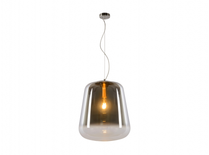 Hanglamp 'Glorio' - kleur: Fum