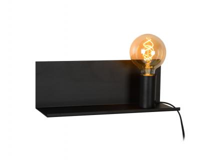 Wandlamp 'Sebo' - kleur: Zwart