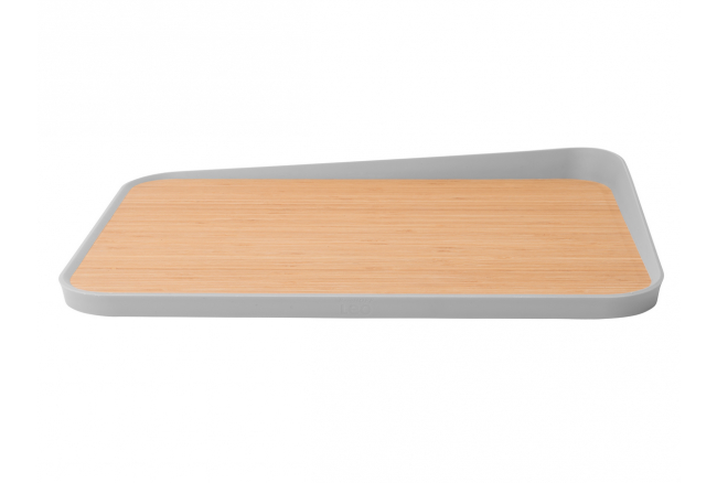 Bamboo snijplank anti-slip 'Le