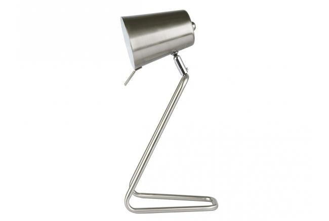 Bureaulamp 'Z' - kleur: Metal