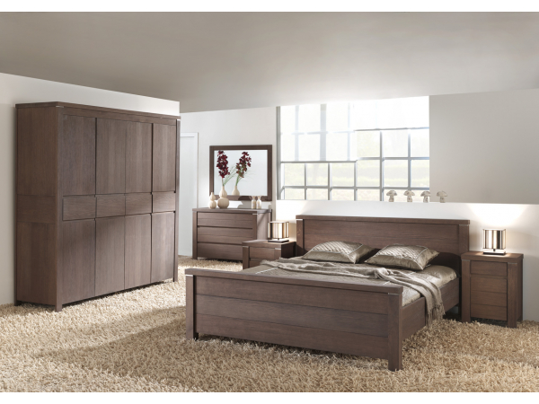 Iets Nieuws Landelijke slaapkamer 'Nature' - kleur: Elephant grey hout   DEBA @KX25