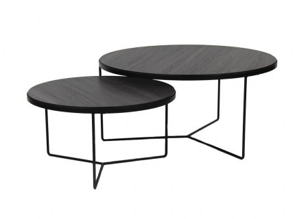 Set van 2 salontafels 'Miso' -