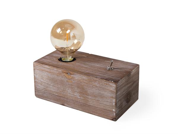 Voorkeur Tafellamp hout | DEBA Meubelen KN31
