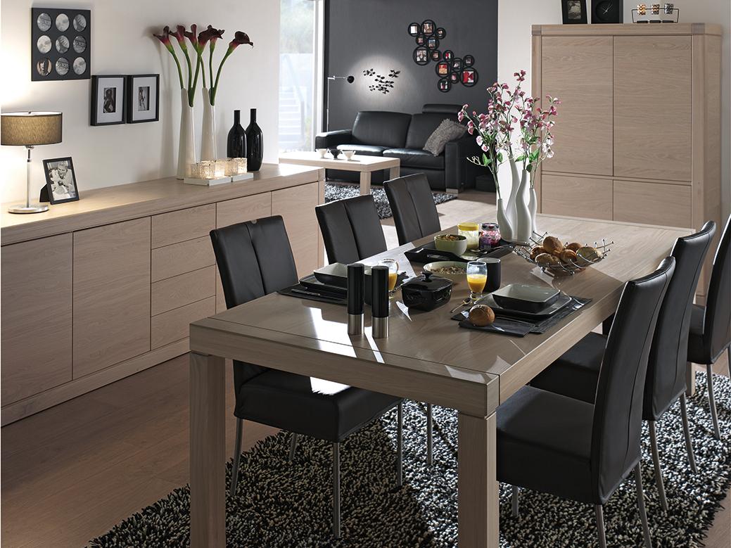 Eetkamer bergamo hout deba meubelen