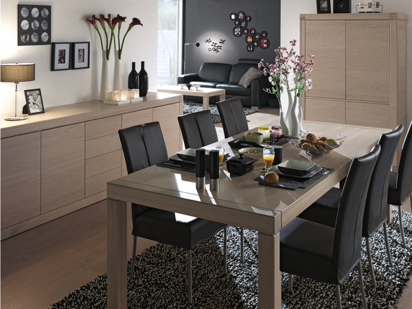 Eetkamer Massief Hout : Eetkamer bergamo hout deba meubelen