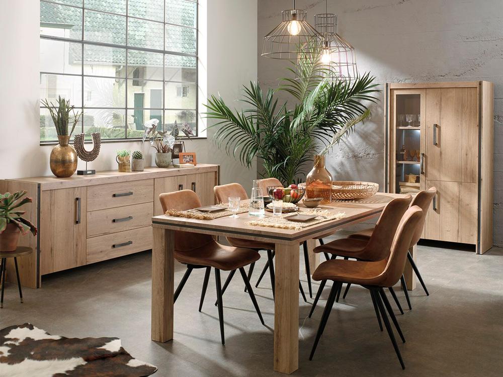 Eetkamer omega hout deba meubelen