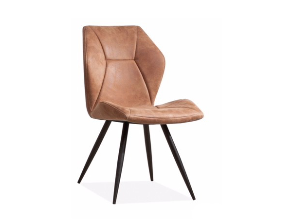 Cognac Kleur Stoel : Stoel tesla kleur softyl cognac bruin deba meubelen