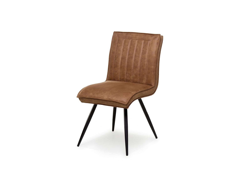 Cognac Kleur Stoel : Stoel tico kleur softyl cognac bruin deba meubelen