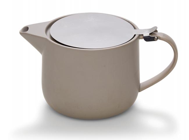 Theepot 'Cafe' - kleur: Wit