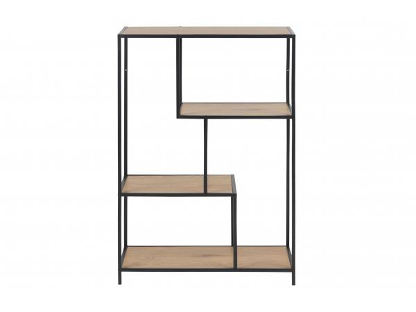Design Kast Woonkamer : Kast boekenrek seaford paper wild oak multicolor deba meubelen