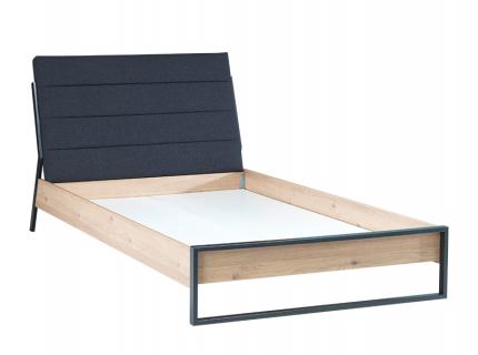 Bed 'Irony' - kleur: Blank Eik