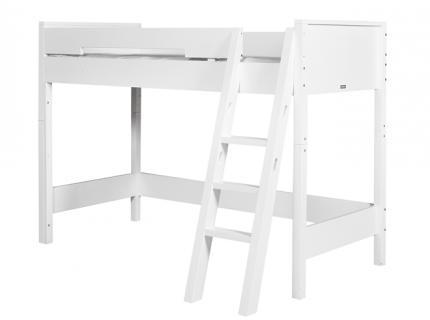 Hoogslaper met schuine ladder