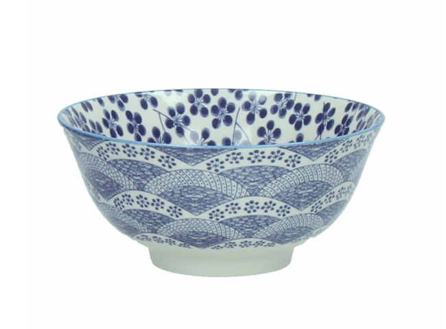 Kom L 'Chiyo' - kleur: Porsele