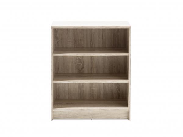 Design Kast Hout : Kast boekenrek optimus sonoma eik hout deba meubelen