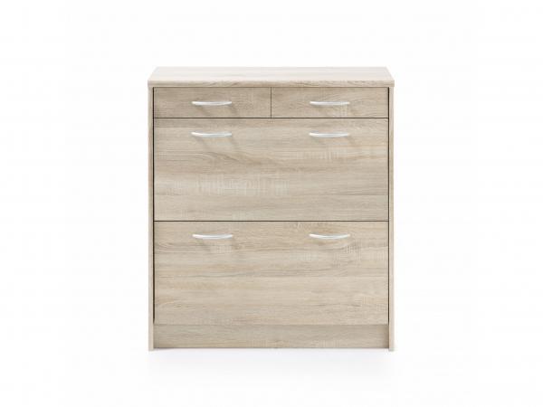 Design Kast Hout : Kast schoenenkast optimus sonoma eik hout deba meubelen