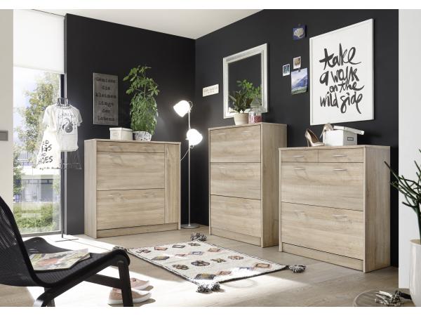 Schoenenkast In Stijl Design.Schoenenkast Optimus Sonoma Eik Hout Deba Meubelen