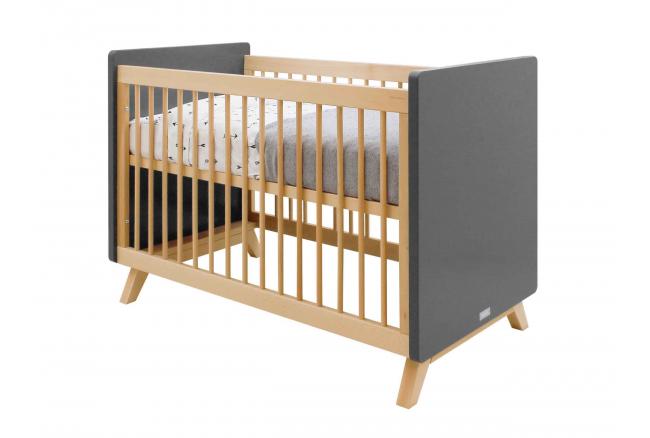 Babybed 'Kyan' - kleur: Grey/N