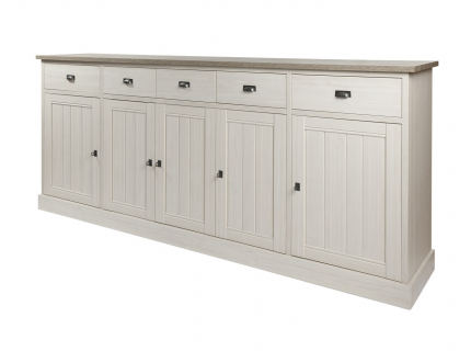 Hoge dressoir 'York' - kleur: