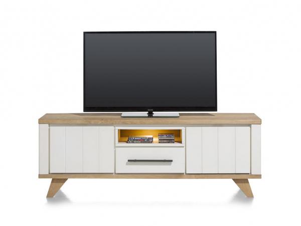 Modern Landelijk Tv Meubel.Kast Tv Meubel Jardin Wit Wit Deba Meubelen