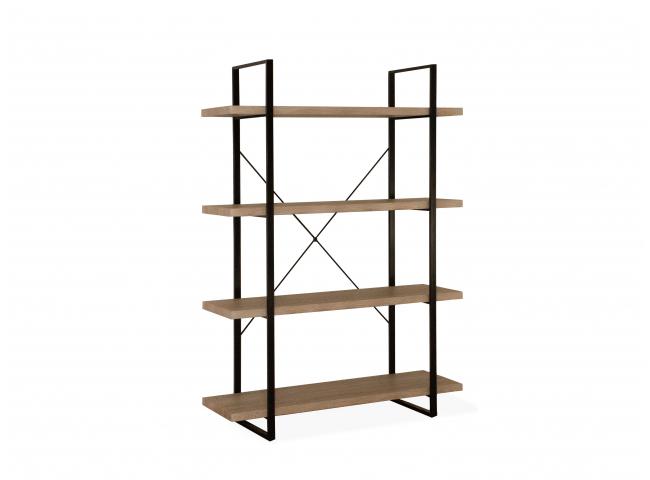 Open rek met 5 planken