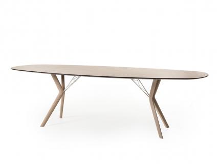 Ovale tafel ECLIPSE - Eiken