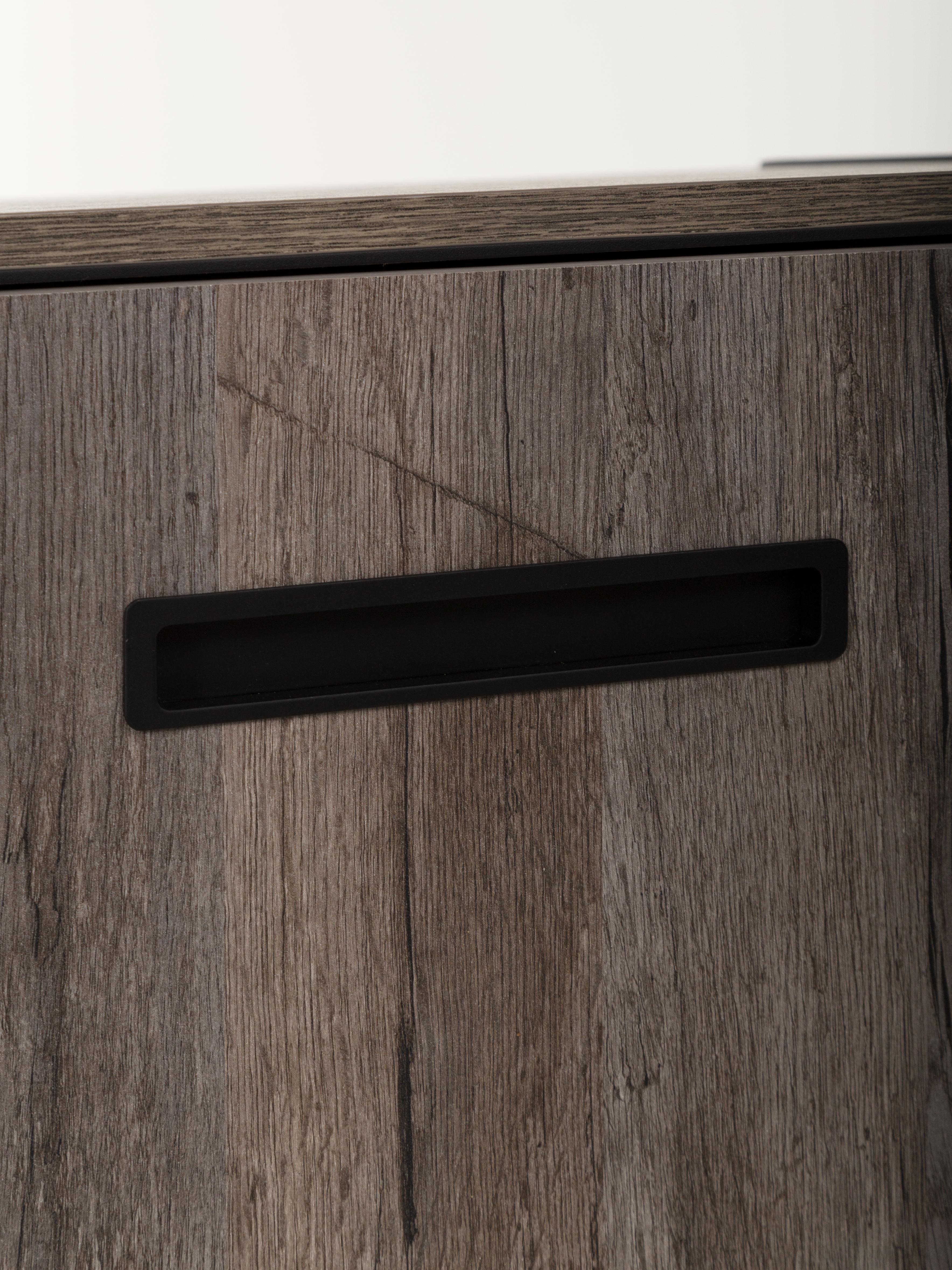Grijs Eiken Kast : Tv kast blues eik grijs grijs deba meubelen