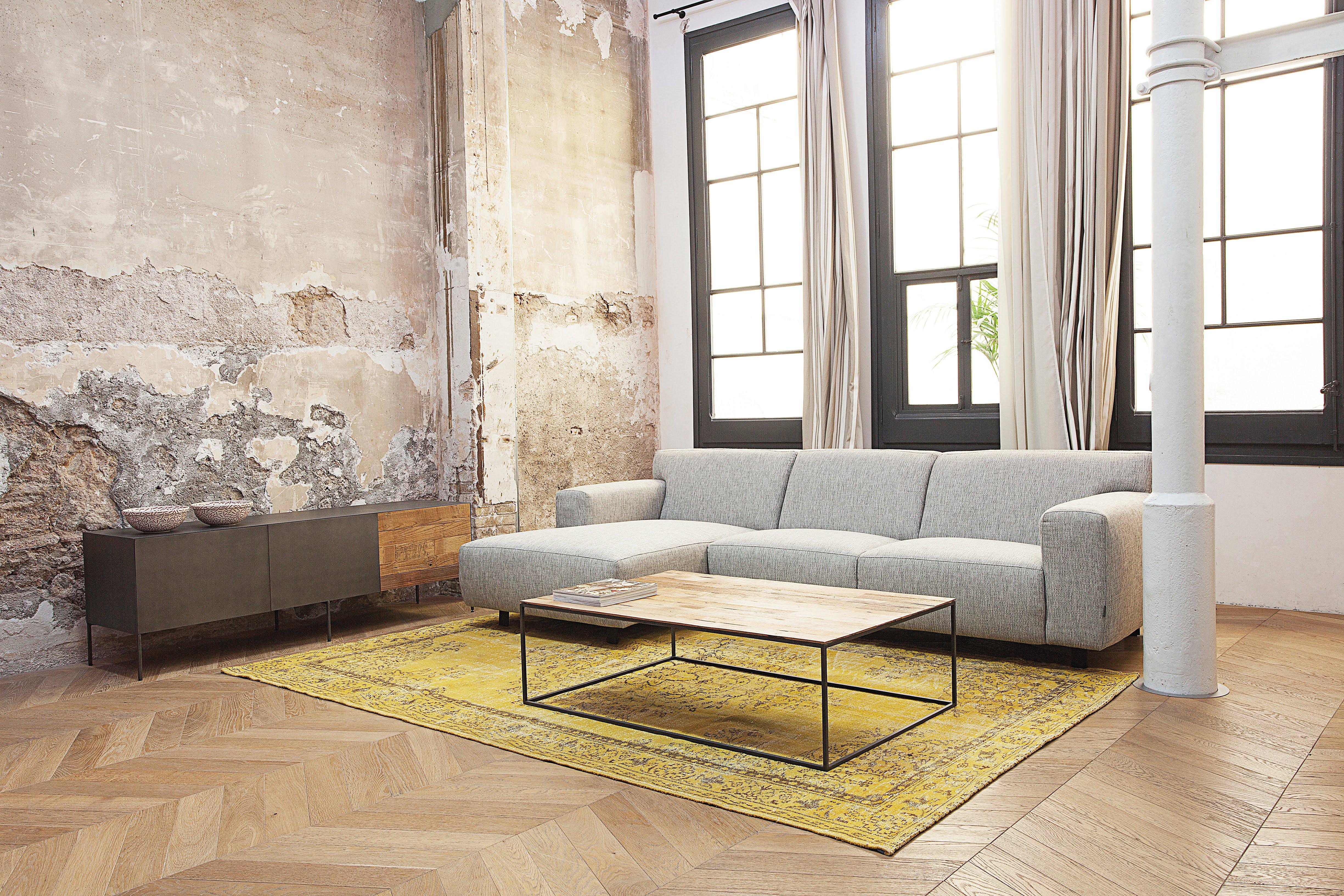 Design Tv Kast : Tv kast fusion teak metaal multicolor deba meubelen