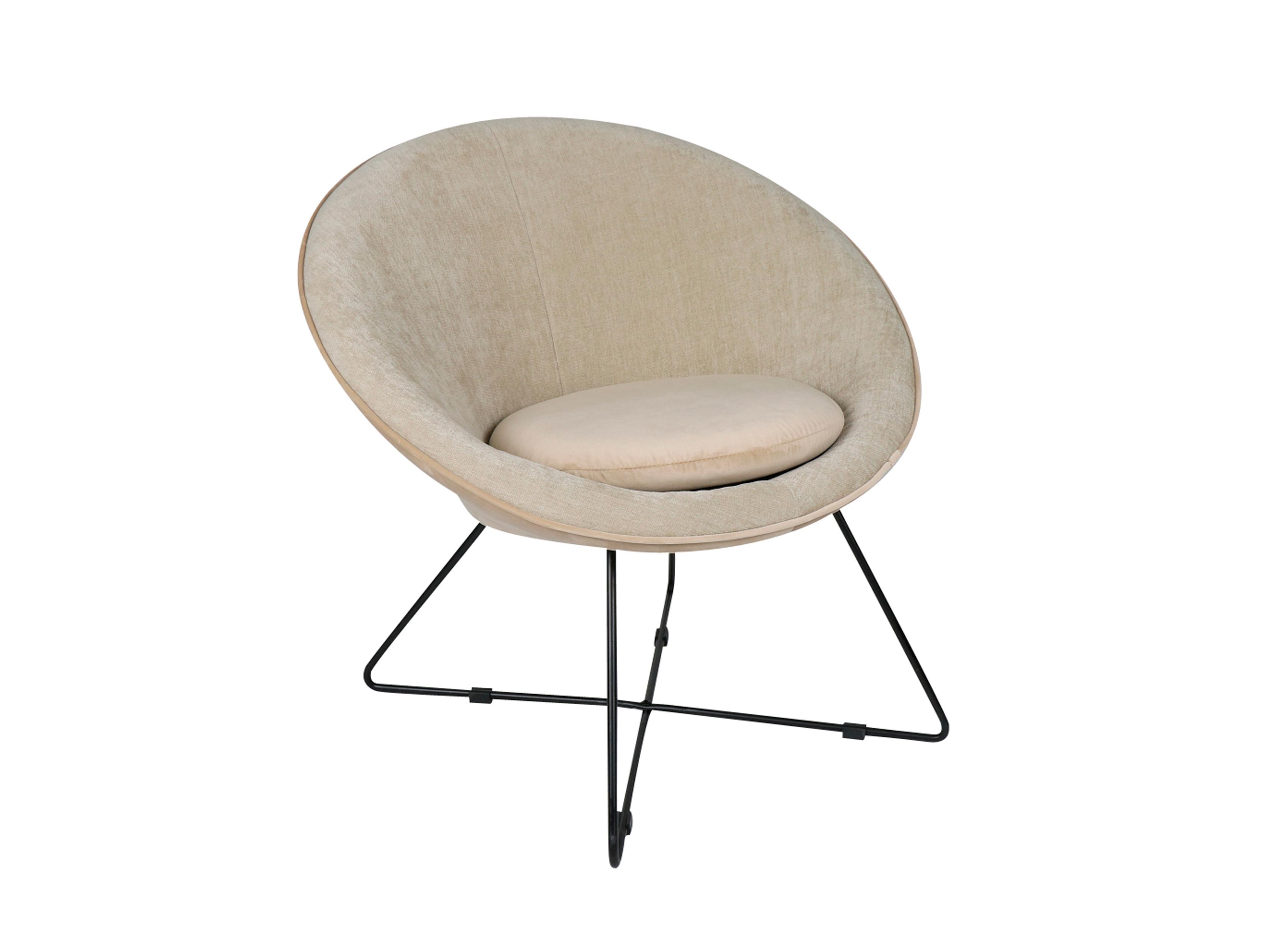 Fauteuil garbo gebroken wit beige deba meubelen