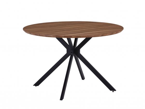 Ronde Eetkamertafel Modern.Ronde Tafel Mdt 411 Oak Hout Deba Meubelen