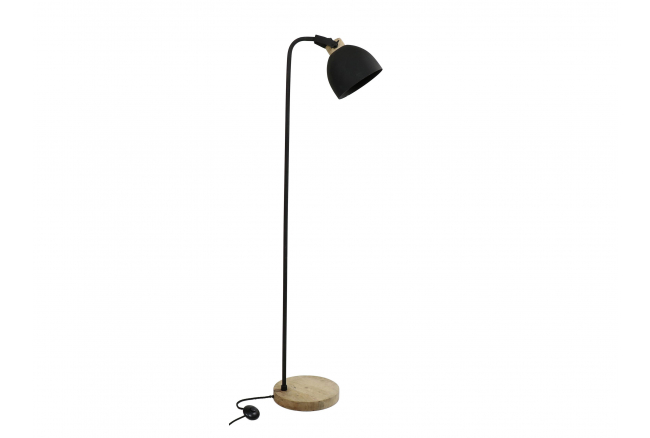 Vloerlamp GALAXIE - Zwart & Ma