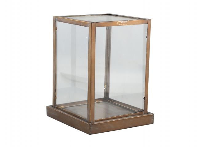 Glazen doos MURRIS - Koper