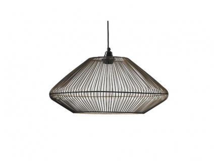 Plafondlamp CAGED - Zwart/Goud