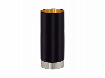 Tafellamp MASERLO - Zwart/goud