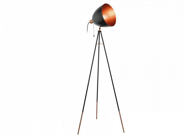 Vloerlamp 1xE27/max.60W, energieklasse A++-E