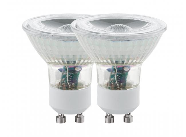 Spot GU10/LED 5W A+ Set van 2