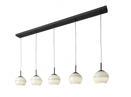 Hanglamp 5xE14/max.25W, energi