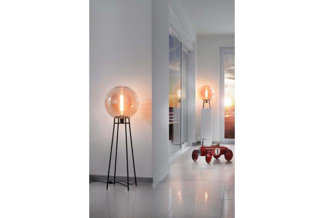 Vloerlamp LANTAREN - Amber