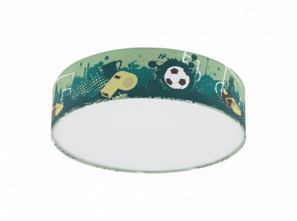 Plafondlamp TABARA - Voetbal