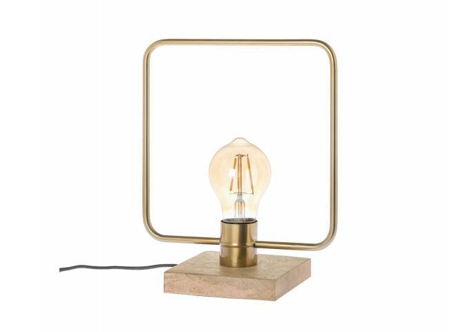 Tafellamp BRYCE vierkant - Gou