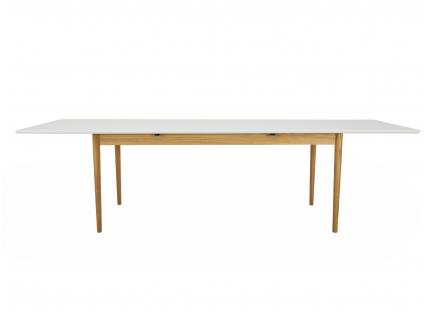 Uittrekbare tafel SVEA - Wit/E