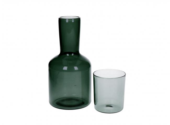 Karaf met glas LASI - Transpar