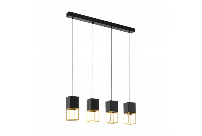 Hanglamp MONTEBALDO - Zwart/Go