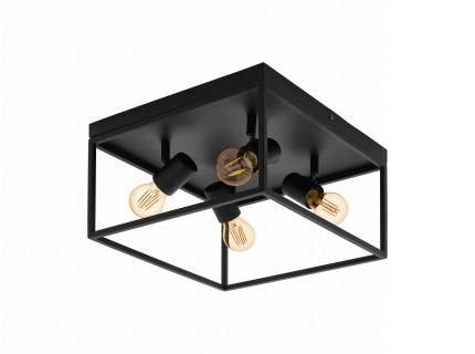 Plafondlamp SILENTINA - Zwart