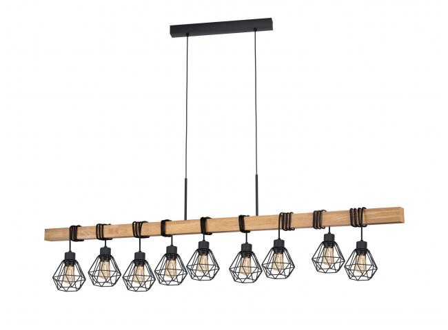 Hanglamp TOWNSHEND 5 - Zwart