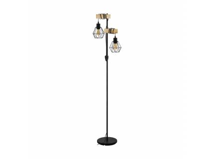 Vloerlamp TOWNSHEND 5 - Zwart