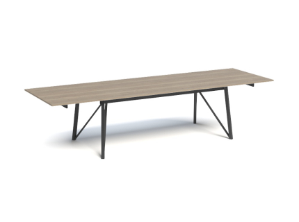 Uitschuifbare tafel WACKO - Zw